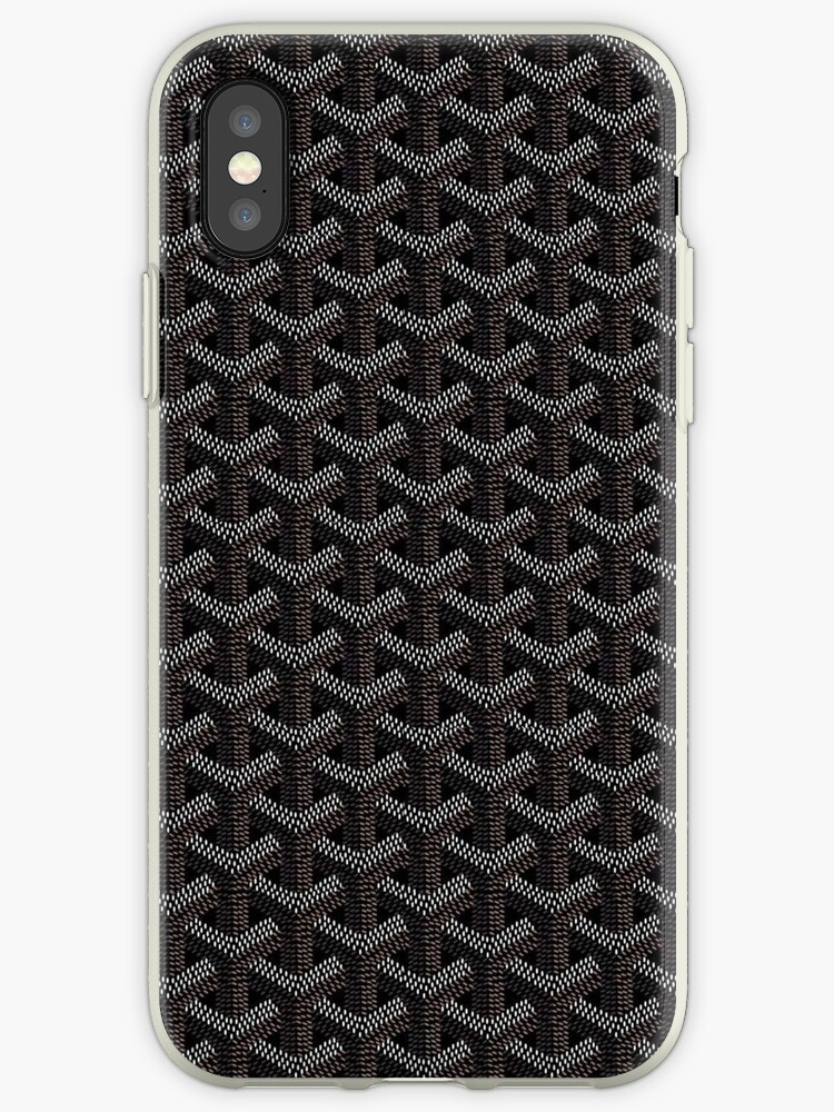 Goyard iPhone Case by JackieGH