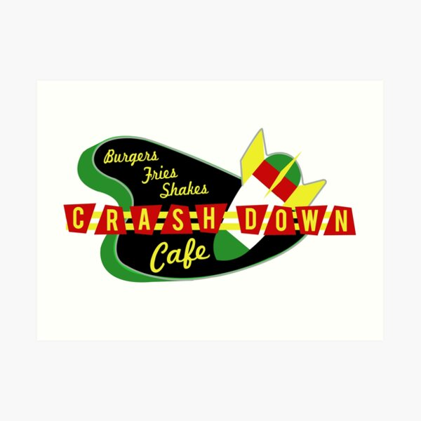 Crashdown Cafe Art Print