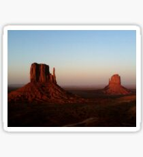 Monument Valley vastness Sticker