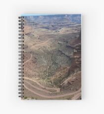 Shafer Trail in Canyonlands National Park Spiral Notebook