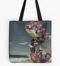 Winged Tote Bag
