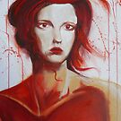 Red woman II (As red as the blood in your veins) by Brett Leurink