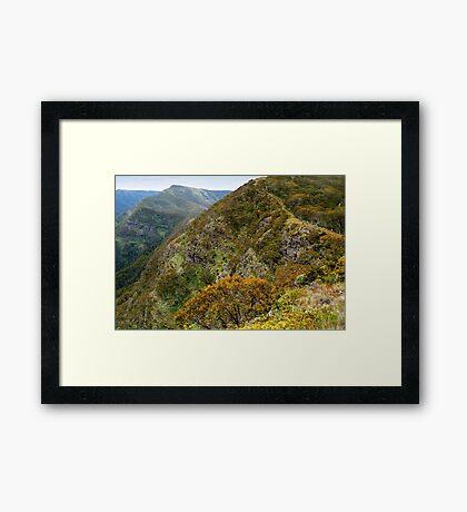 High Country Views Framed Print