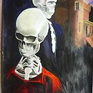 Mr and Mrs Skeleton on their daily outing by Brett Leurink