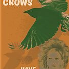 The Crows Have Eyes Movie Poster  by PolydsignStudio