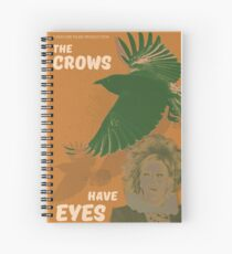 Cuaderno de espiral El cartel de la película The Crows Have Eyes