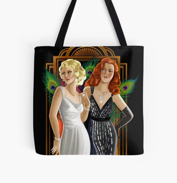 Femmes Fatales All Over Print Tote Bag