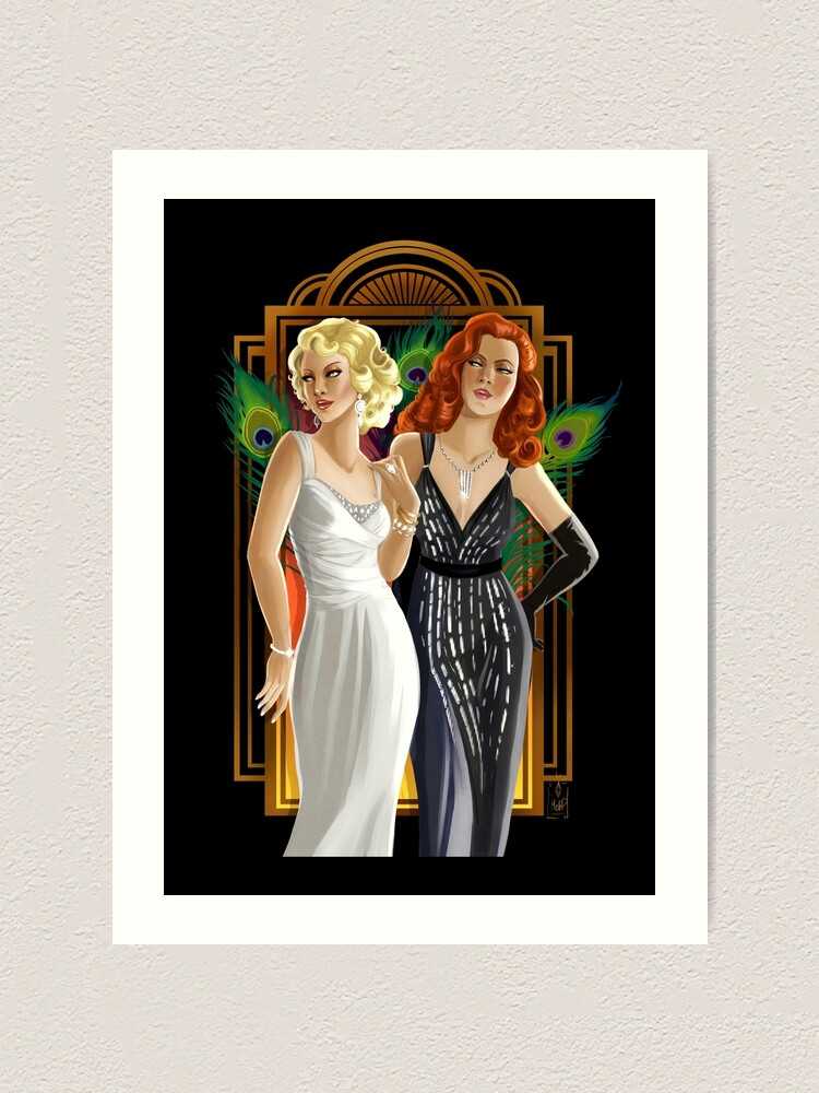 Alternate view of Femmes Fatales Art Print