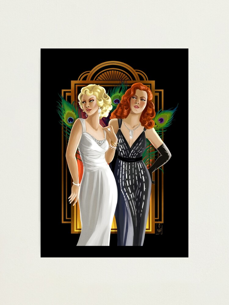 Alternate view of Femmes Fatales Photographic Print