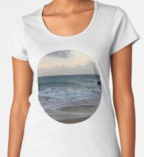 Beach Sunset Women's Premium T-Shirt