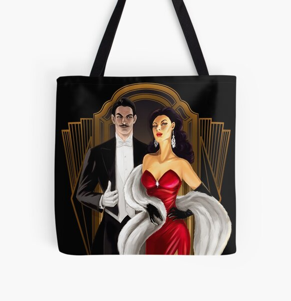 After Dark All Over Print Tote Bag