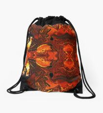 the red light Drawstring Bag