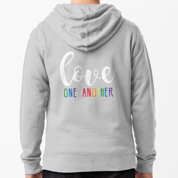 Love One Another Zipped Hoodie