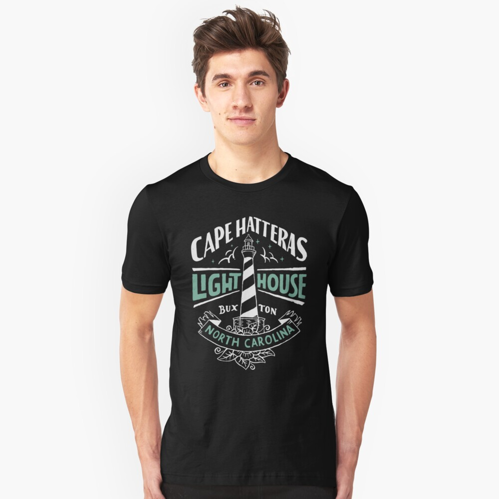Cape Hatteras Lighthouse Outer Banks NC Unisex T-Shirt Front