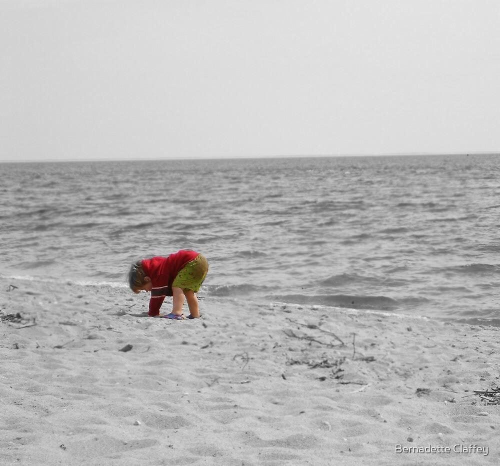Little Boy on the Beach by Bernadette Claffey