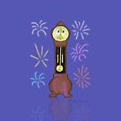 New Year Grandfather Clock by SeaSerpent