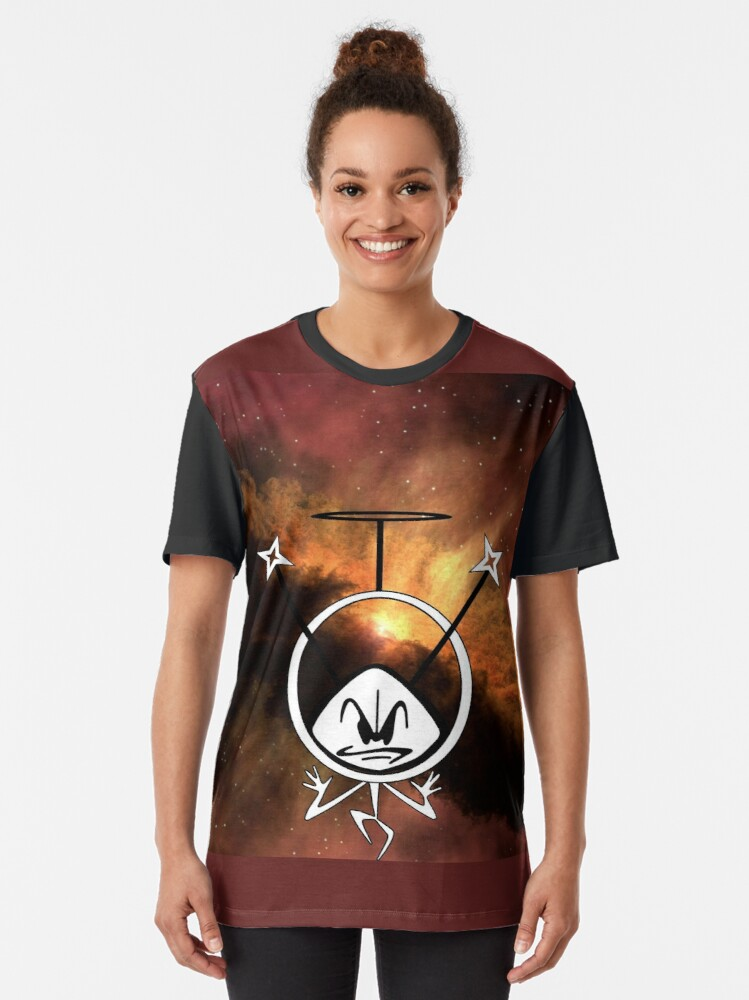 Alternate view of Colonel Bleep in the Cosmos ! Graphic T-Shirt