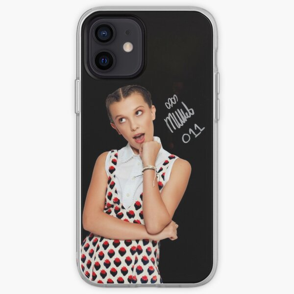 Millie Bobby Brown / Onze 11 Coque souple iPhone