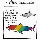 Sharks! - Pride by lifeofsharks