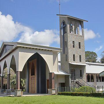 Roman Catholic Church in Quepos by Carole-Anne