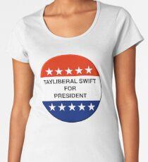 Tayliberal 4 President Women's Premium T-Shirt