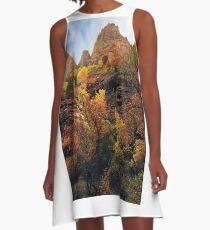 Rampant Splendor A-Line Dress