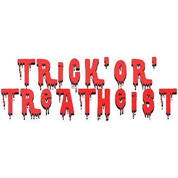 Trick'or'TreATHEIST by ezcreative