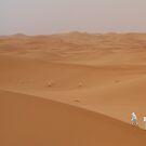 Sahara desert figures by Christine Oakley