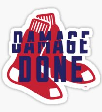 Damage Done Sticker