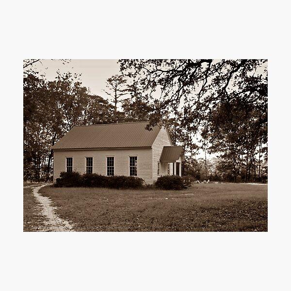 Village Churchyard Photographic Print