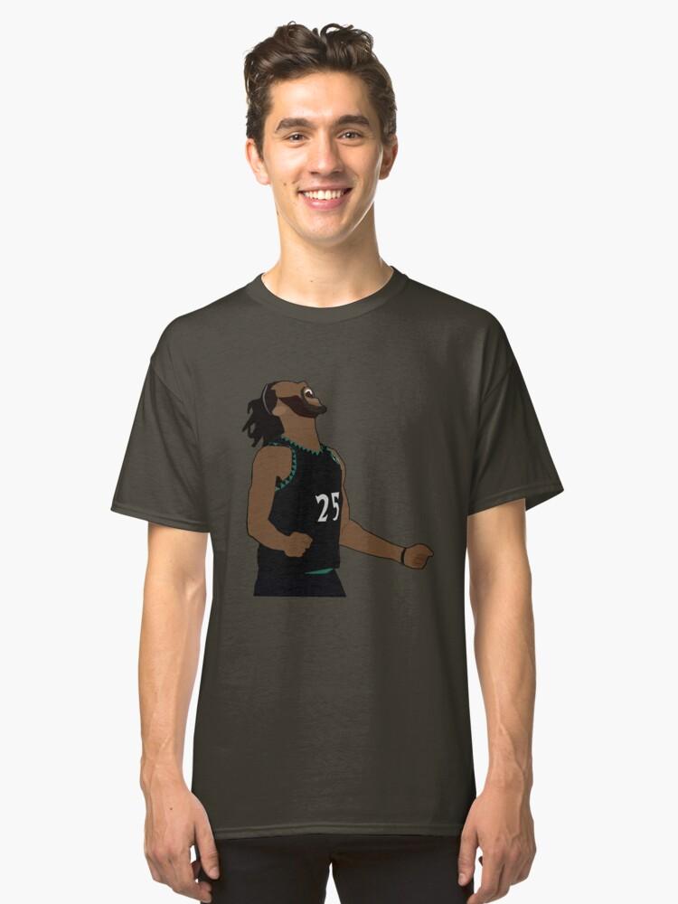 1fd7028c1f74 Derrick Rose 50 Point Performance - Minnesota Timberwolves Classic T-Shirt
