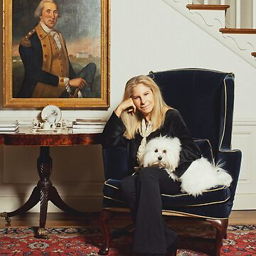 Barbra and her dog [Oil Paint Rendering] by michaelroman
