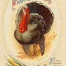 Vintage Turkey Thanksgiving picture by dorcas13