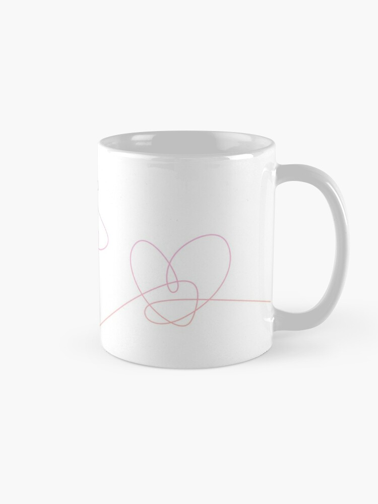 Alternate view of BTS Love Yourself Complete Flower Mug