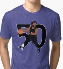 Derrick Rose 50 Point Game Tri-blend T-Shirt