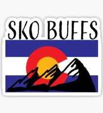 Sko Buffs Sticker Sticker