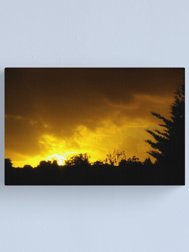 Alternate view of Farewell To The Weekend Canvas Print
