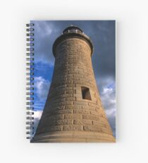 Tynemouth Lighthouse Spiral Notebook