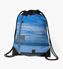 Danger Ferry Operating Drawstring Bag