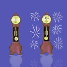 New Year Grandfather Clock Sequence by SeaSerpent