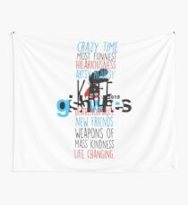 GISHWES Synonyms (colour) Wall Tapestry