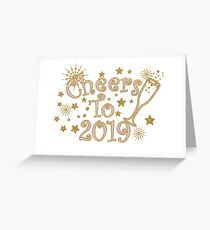 Champagne 2019 Greeting Card