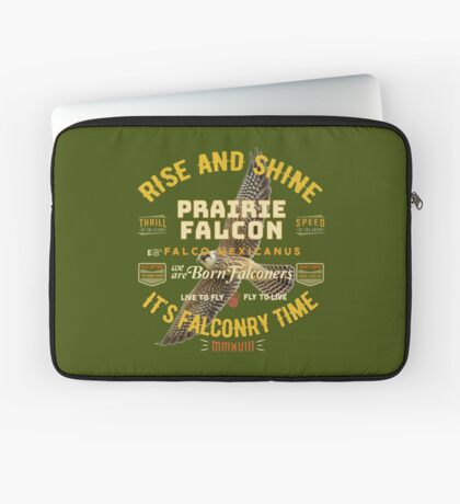Falconers Prairie Falcon Gifts and Apparel for Longwingers Who Fly Prairie Falcons Great Falconry Supplies T-shirts Laptop Sleeve