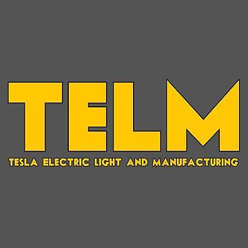 Nikola Tesla science Elon Musk by untagged-shop