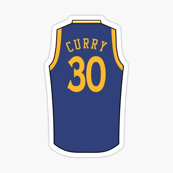 Stephen Curry Jersey Sticker