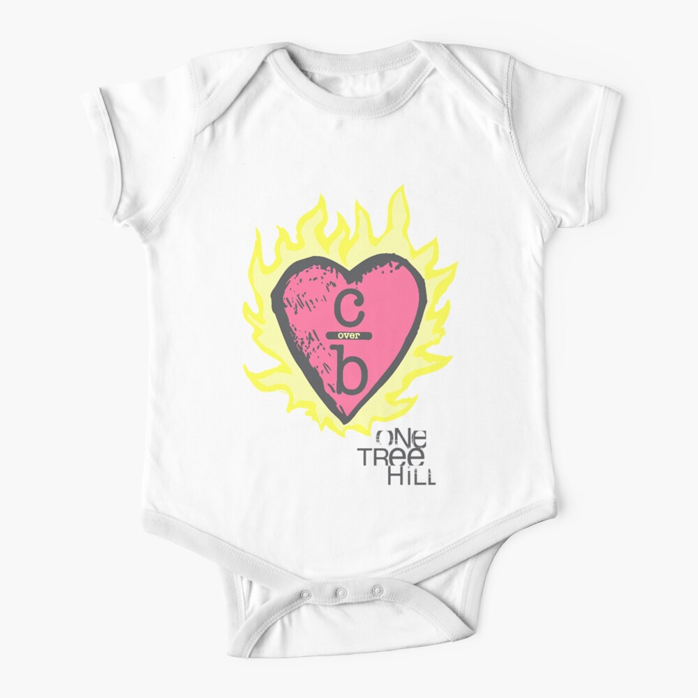 One tree hill- Burning Heart Baby One-Piece