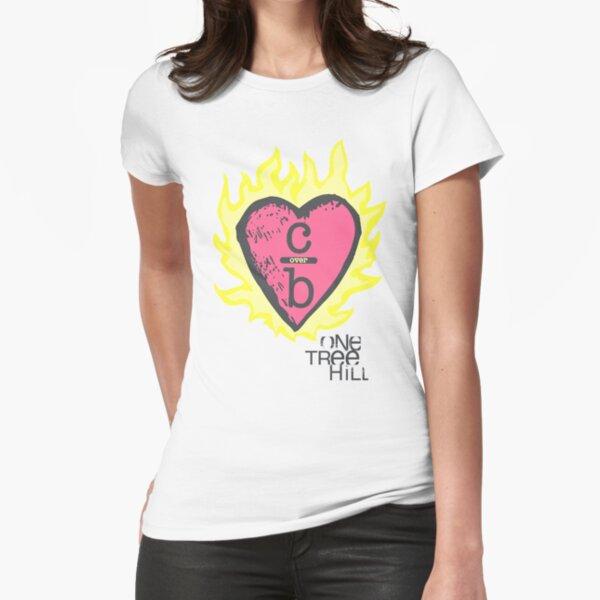 Une colline de l'arbre - Burning Heart T-shirt moulant
