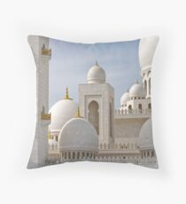 Sheikh Zayed Grand Mosque Throw Pillow