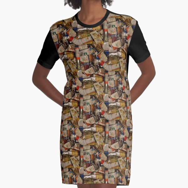 Shhhh... Artist at Work  Graphic T-Shirt Dress