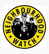 Neighbourhood Watch Photographic Print
